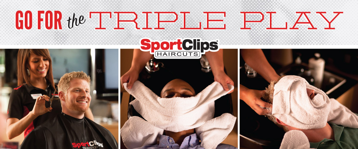 The Sport Clips Haircuts of Midland Triple Play